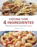 Cocina con 4 ingredientes.