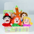 Marionetas de emociones con 2 caras (con CD)