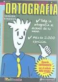 Ortograf�a. Aprende ortograf�a con el m�todo m�s eficaz ( CD ) - Versi�n educativa -