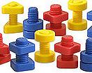 Tornillos y tuercas (48 piezas)