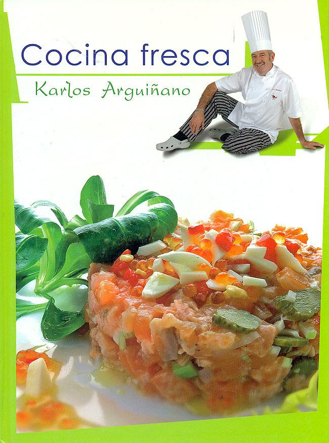 Cocina fresca tapa dura karlos argui ano la cocina de mam for Cocina carlos arguinano