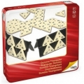Domin� triangular (caja de metal)