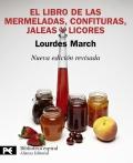 El libro de las mermeladas, confituras, jaleas y licores.