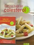 Cocina baja en colesterol. Saludable y equilibrada.