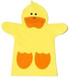 T�tere de mano Pato