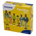 Figura de familia africana (8 figuras)
