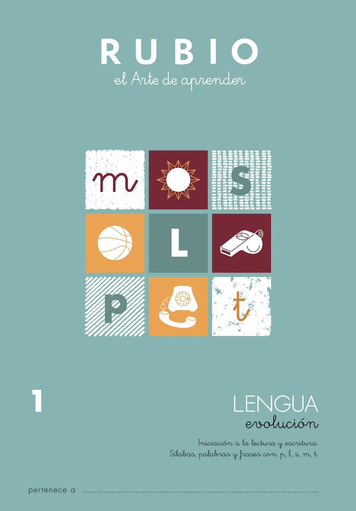 Lengua Evolución 1 Iniciación A La Lectura Y Escritura Sílabas Palabras Y Frases Conplsmt Rubio Lengua