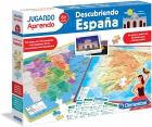 Descubriendo España. Jugando aprendemos
