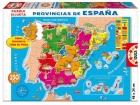 Puzle provincias de España 150 piezas