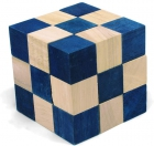Serpentino Snake Cube azul