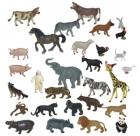 Animales granja y salvajes 30 figuras
