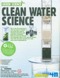 Eco ciencia agua limpia (Green science clean water science)