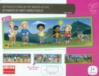 Familias del mundo actual - Maletín con 4 puzzles
