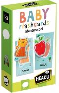 Baby flash cards Montessori. Escucha y pronuncia las primeras palabras