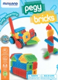 Pegy bricks 40 piezas. Maleta Asa