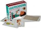 Baraja educativa 40 cartas Memomiak (juego de imitación)