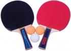 Palas ping pong - tenis de mesa con 3 pelotas