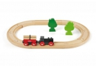 Circuito pequeño tren forestal madera(Little Forest Train Set)