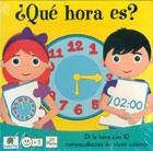 ¿Qué hora es?. Di la hora con 10 rompecabezas de vivos colores