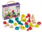 Estuche de tornillos y tuercas ECO (24 piezas)
