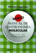 Nuevo manual de gastronomía molecular. El encuentro entre la ciencia y la cocina