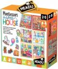 Montessori My Little House. Coloca las cosas y construye tu casita