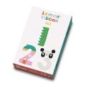Juego de cartas Lemon Ribbon 123. Un juego para aprender los números.