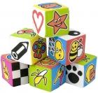 Cubos esponjosos con sonido (6 piezas)