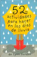 Baraja 52 actividades para hacer en los días de lluvia