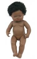 Baby africano niña con pelo (38 cms)
