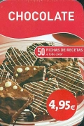 Chocolate. 50 fichas de recetas a todo color.