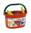 Cesta de frutas (15 piezas)
