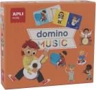 Domino Music. Dominó de los instrumentos musicales