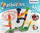 Marbulous. Circuito de canicas (46 piezas)