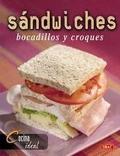 Sandwiches, bocadillos y croques.