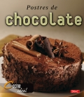 Postres de chocolate.