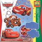 Cuentas para planchar (Beedz). Llaveros Disney Cars