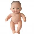 Baby asiático niña (21 cm)