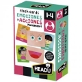 Flash Cards Emociones y Acciones Montessori
