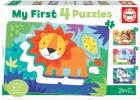 My First 4 Puzzles. Animales de la Selva