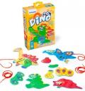 Enlazar Flexi Dino. Ayuda a los dinos uniendo todas sus partes.