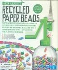 Cuentas de papel reciclado (Recycled paper beads)
