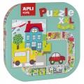 Puzzle XXL La ciudad (The city)