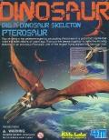 Excavación esqueleto de pterosaur