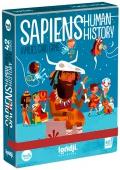 Sapiens Historia de la Humanidad. Juego de cartas de familias
