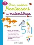 Gran cuaderno Montessori de matemáticas de 3 a 6 años