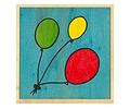 Puzzle de tres globos