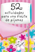 Baraja 52 actividades para una fiesta de pijamas