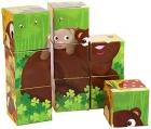 Animales bosque 9 cubos