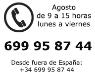 Telefono de contacto